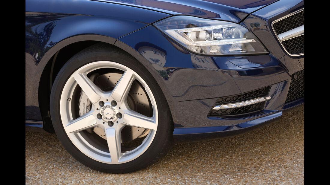 Mercedes CLS 250 CDI Shooting Brake, Rad, Felge