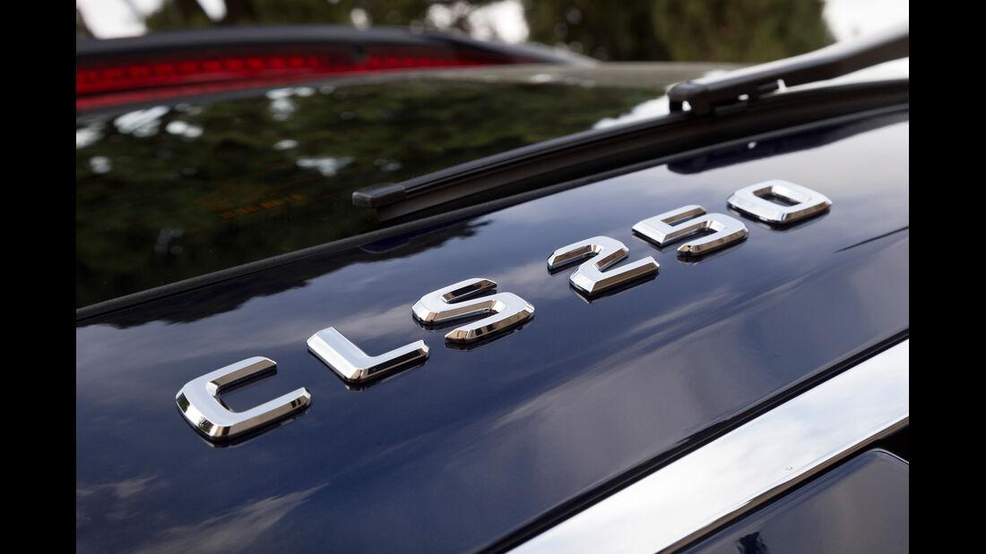 Mercedes CLS 250 CDI Shooting Brake, Typenbezeichnung