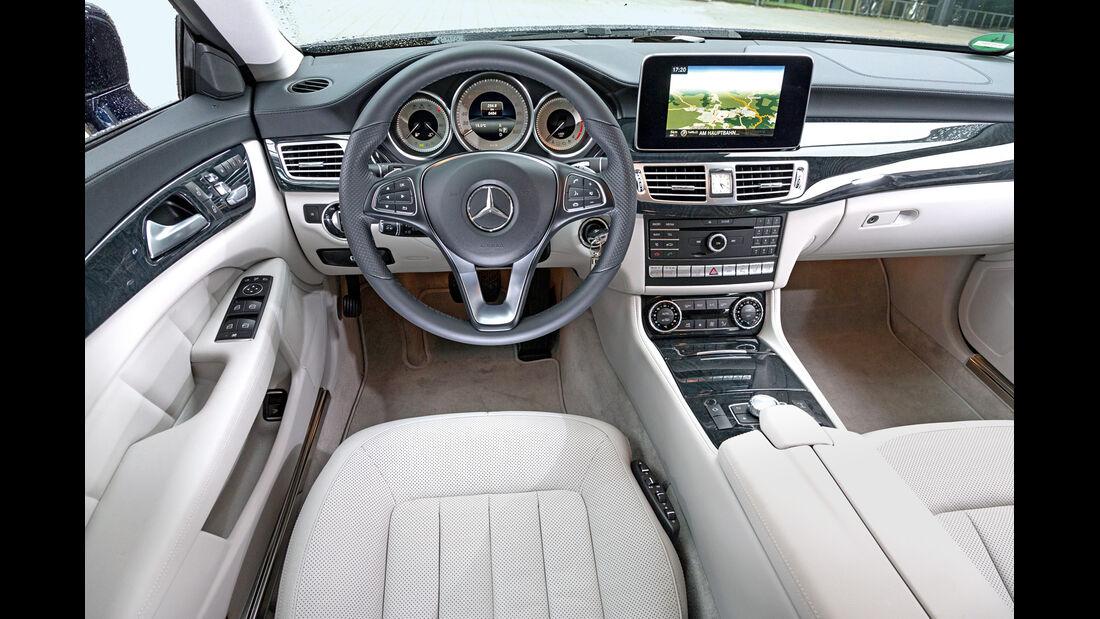 Mercedes CLS 350 Bluetec Shooting Brake, Cockpit