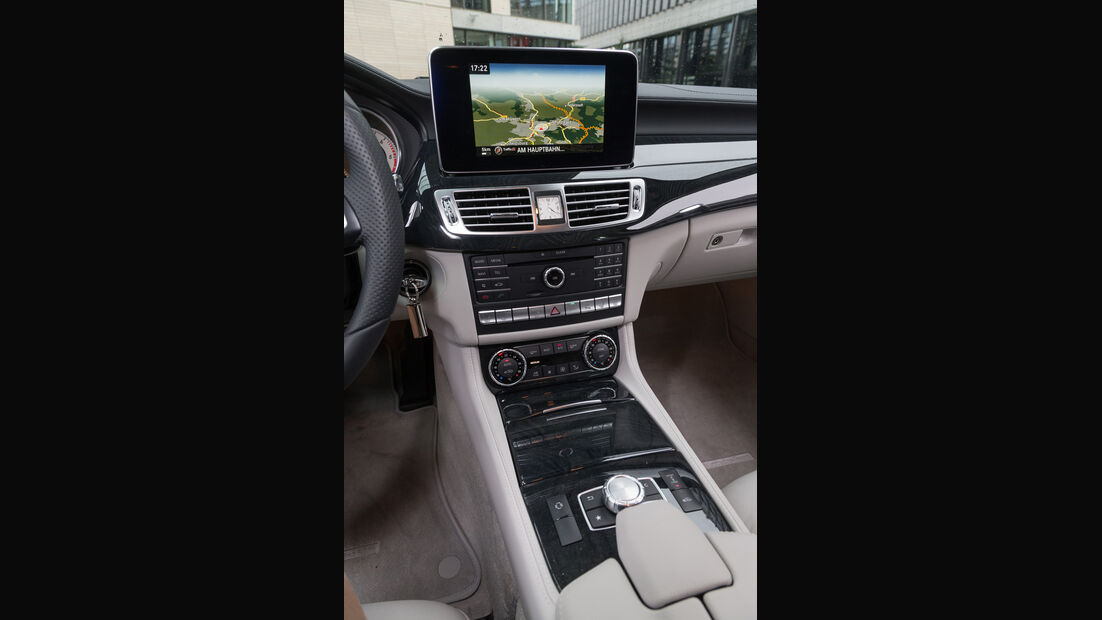 Mercedes CLS 350 Bluetec Shooting Brake, Monitor, Infotainment