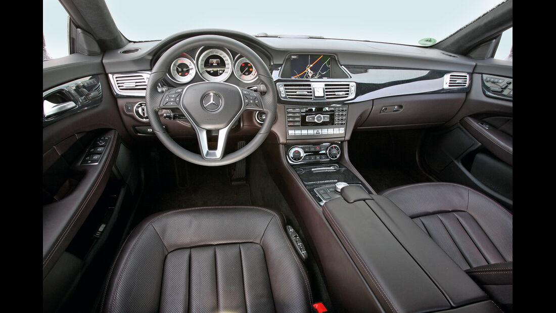 Mercedes CLS 350, Cockpit, Lenkrad