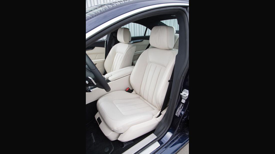 Mercedes CLS 400 4Matic, Fahrersitz
