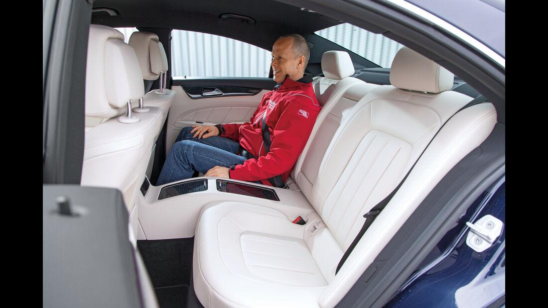 Mercedes CLS 400 4Matic, Fondsitz
