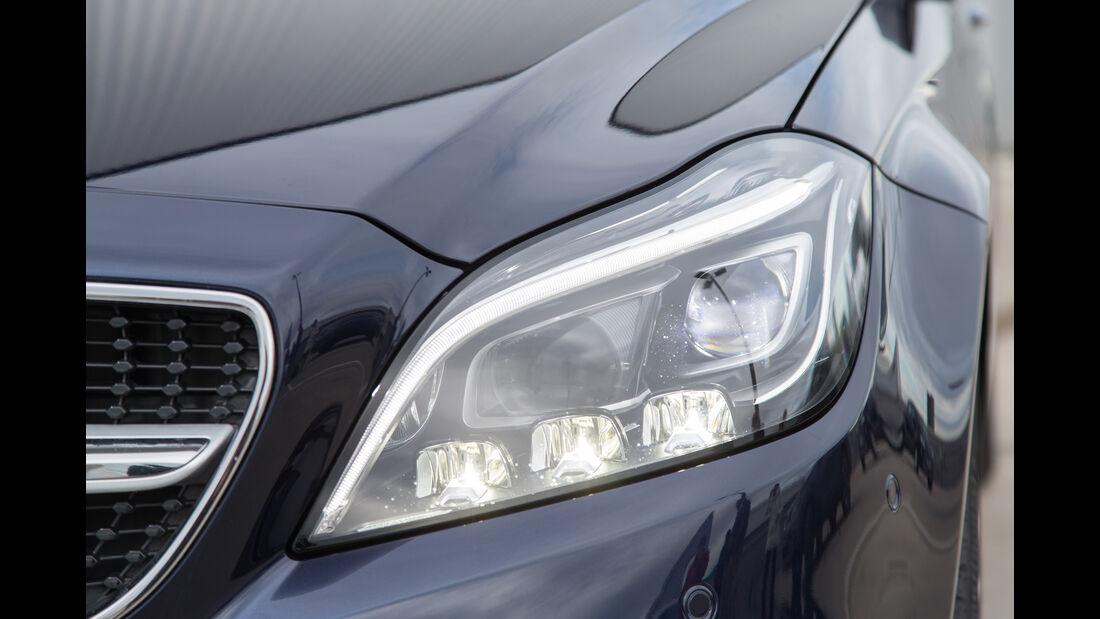 Mercedes CLS 400 4Matic, Frontscheinwerfer