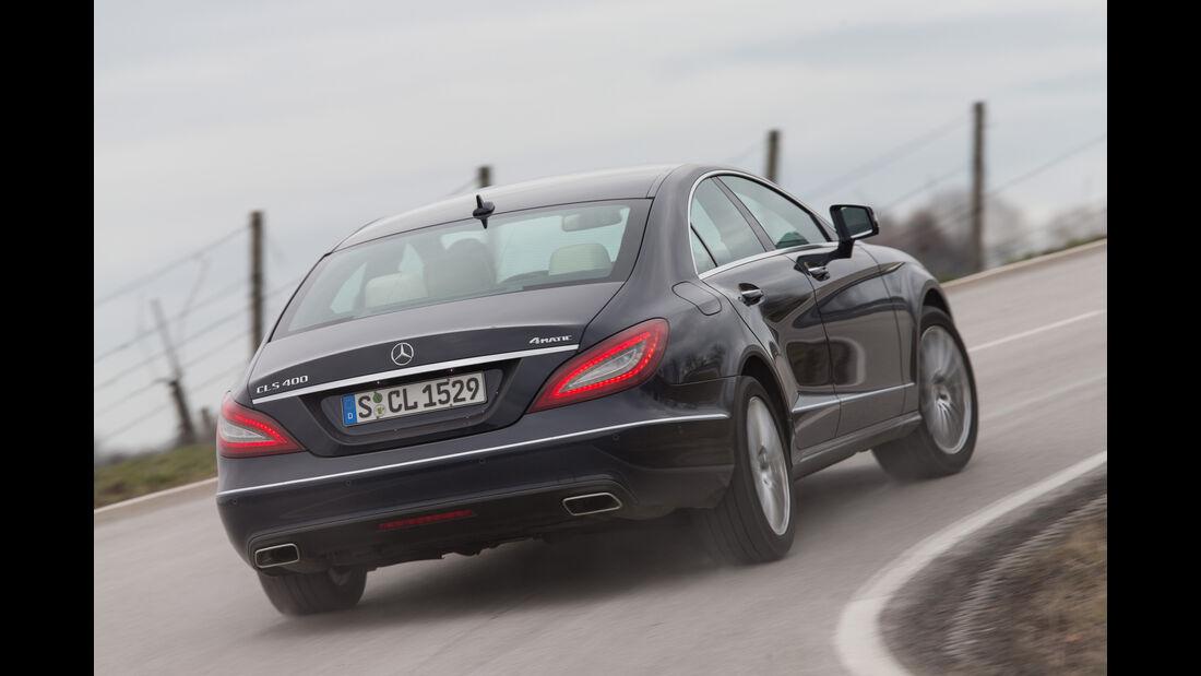 Mercedes CLS 400 4Matic, Heckansicht