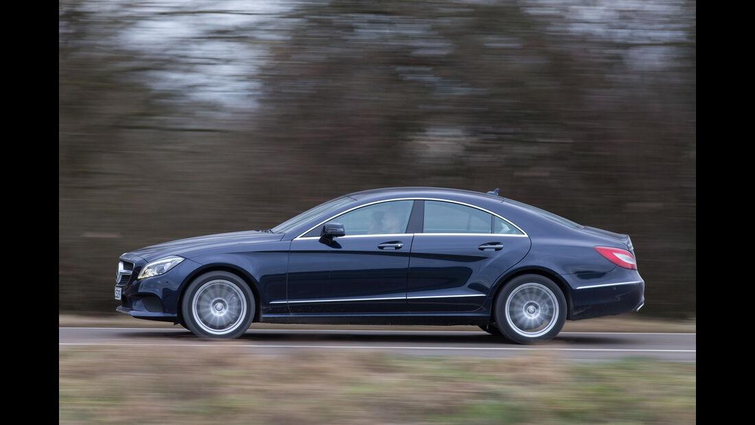 Mercedes CLS 400 4Matic, Seitenansicht