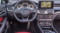 Mercedes CLS 400, Cockpit