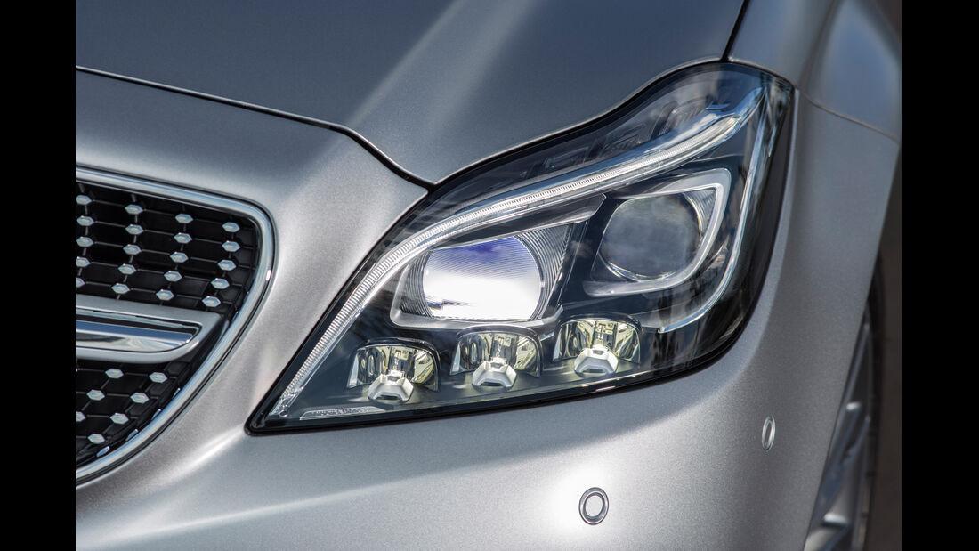 Mercedes CLS 400, Frontscheinwerfer