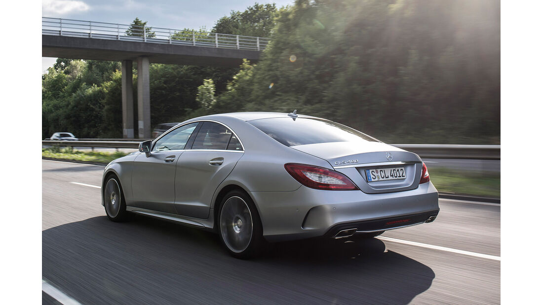 Mercedes CLS 400, Heckansicht