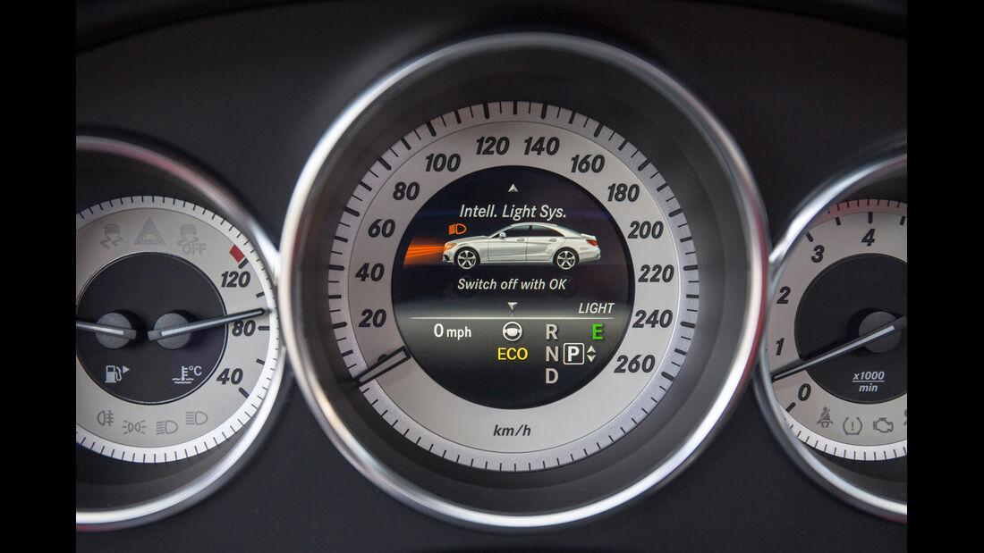 Mercedes CLS 400, Rundinstrumente