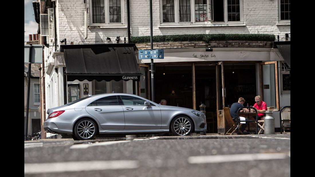 Mercedes CLS 400, Seitenansicht