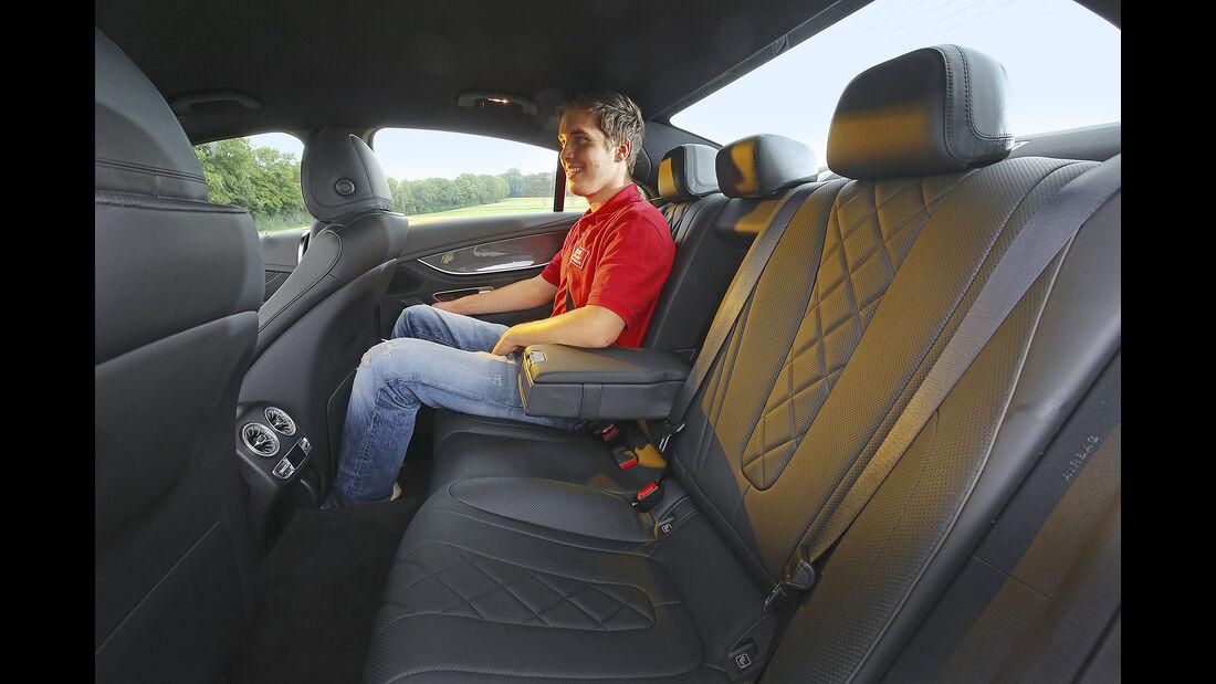 Mercedes CLS 450 4Matic, Interieur