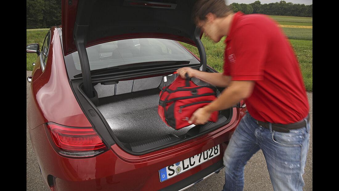 Mercedes CLS 450 4Matic, Kofferraum
