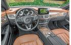 Mercedes CLS 500 4MATIC, Cockpit