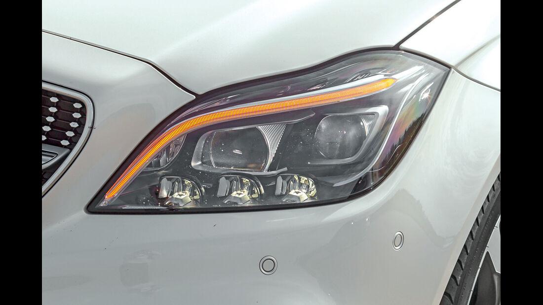 Mercedes CLS 500 4MATIC, Frontscheinwerfer