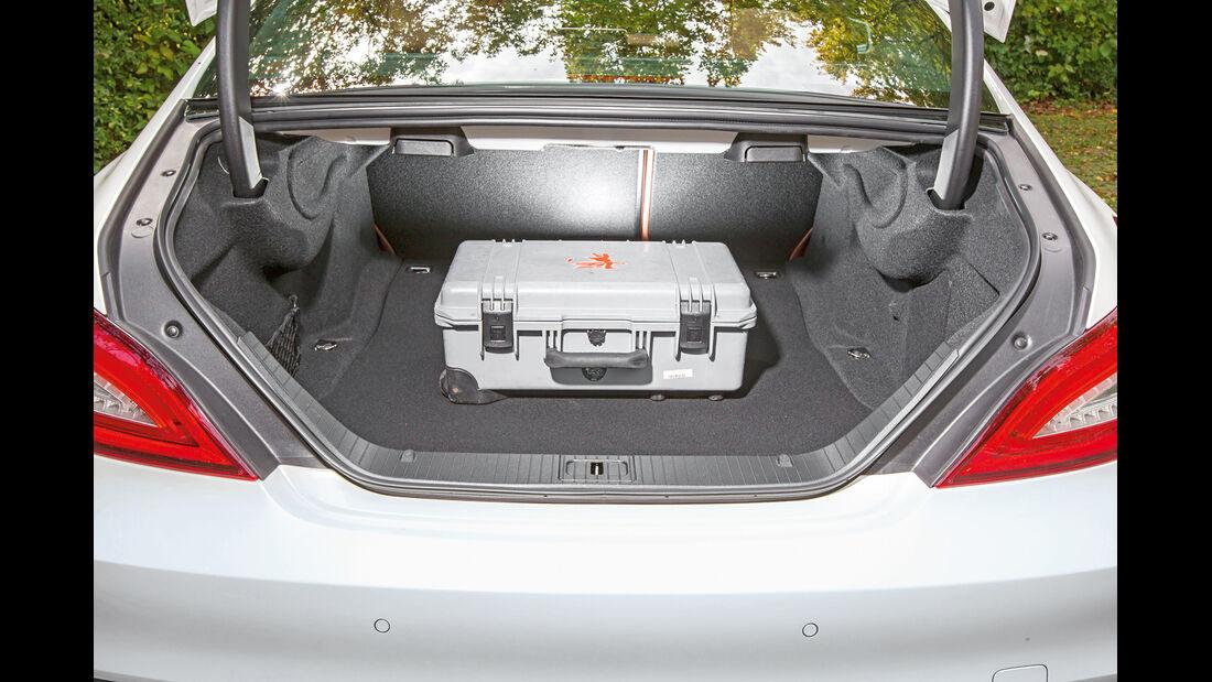 Mercedes CLS 500 4MATIC, Kofferraum