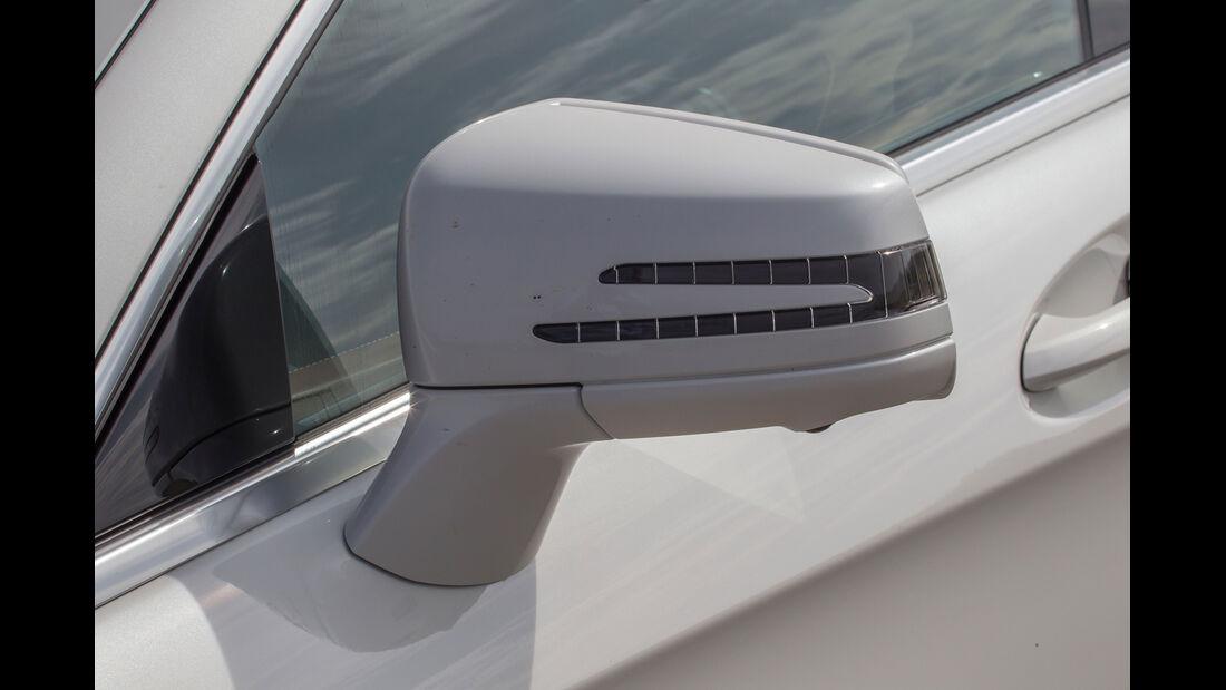 Mercedes CLS 500 4MATIC, Rückspiegel