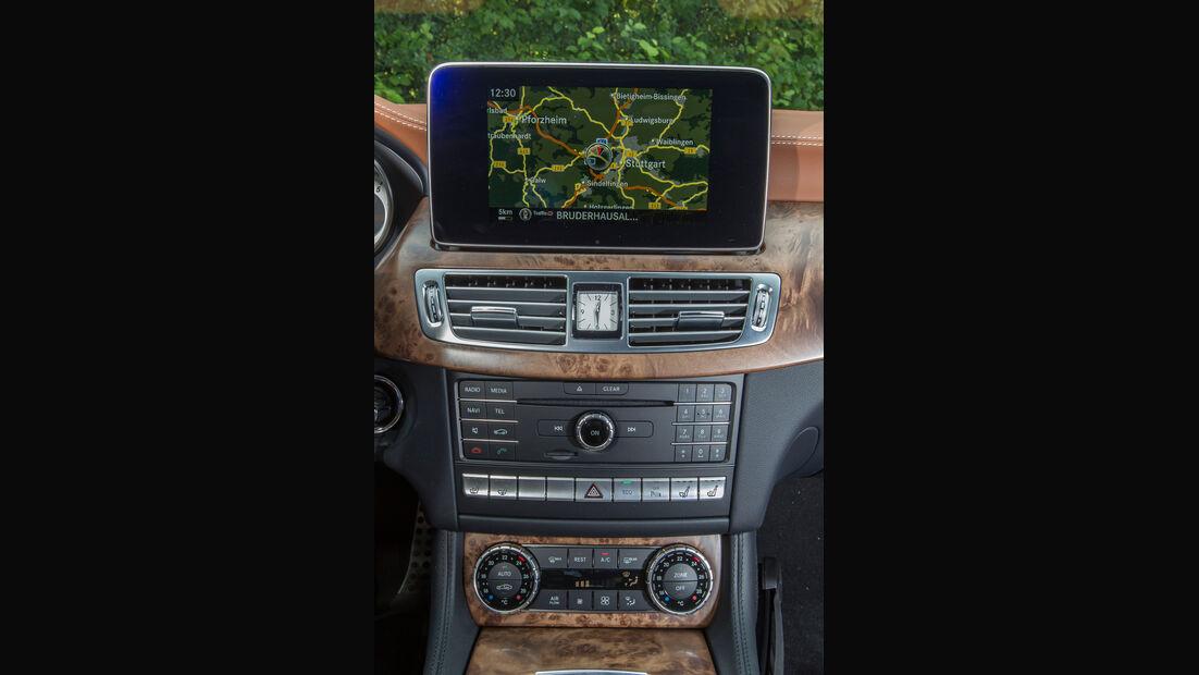 Mercedes CLS 500 4MATIC, Rundinstrumente