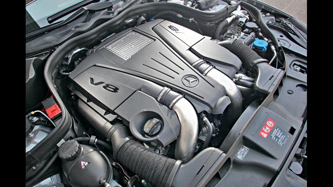 Mercedes CLS 500 4matic, Motor
