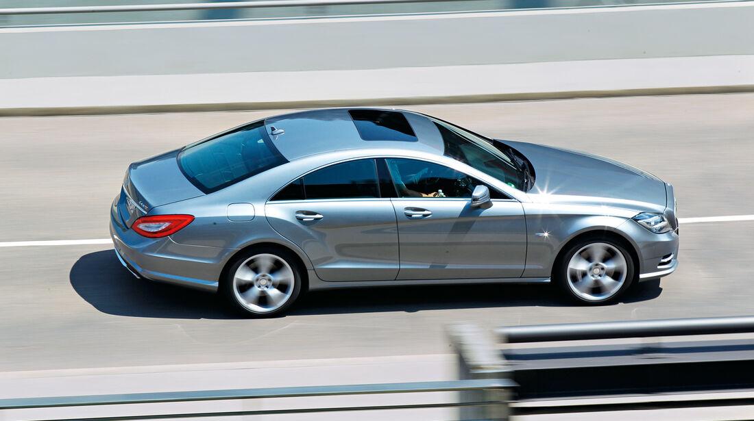Mercedes CLS 500 4matic, Seitenansicht