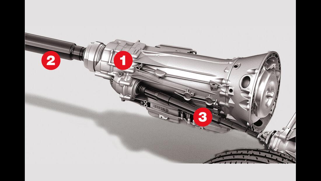 Mercedes CLS 500 4matic Shooting Brake, Allrad, Grafik