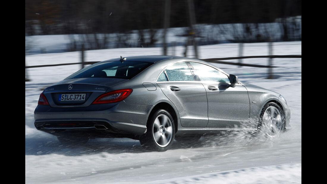 Mercedes CLS 500, Heckansicht