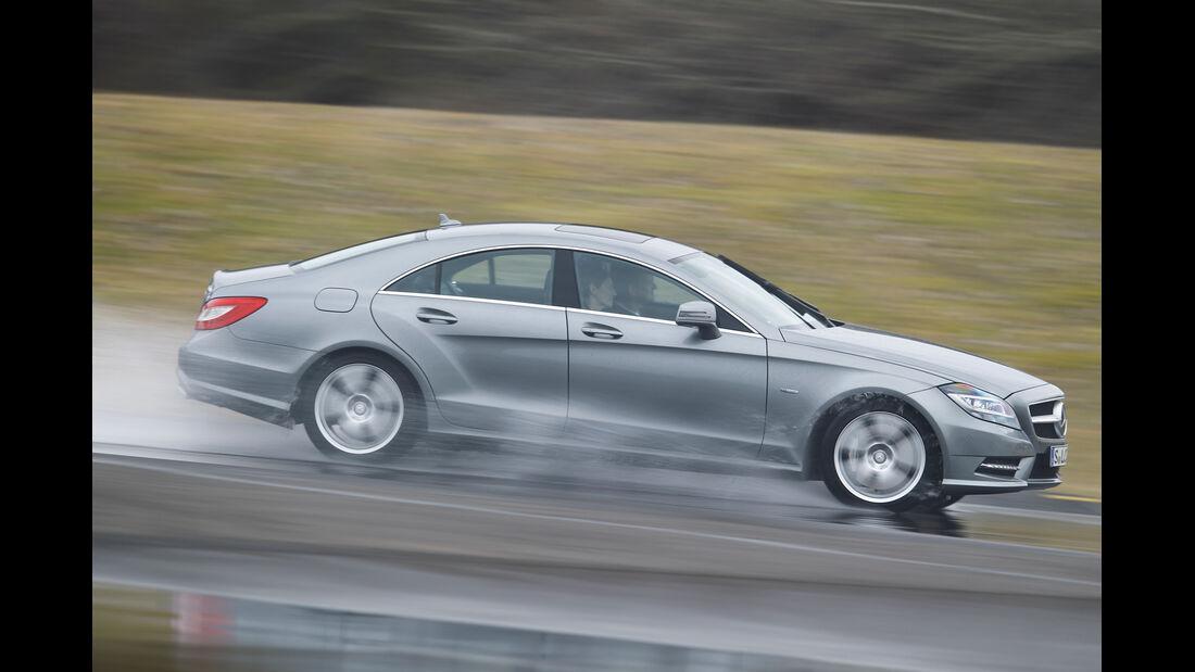 Mercedes CLS 500, Seitenansicht