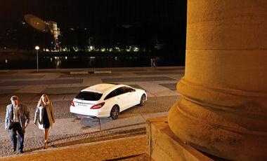 Mercedes CLS 500 Shooting Brake, Seitenansicht