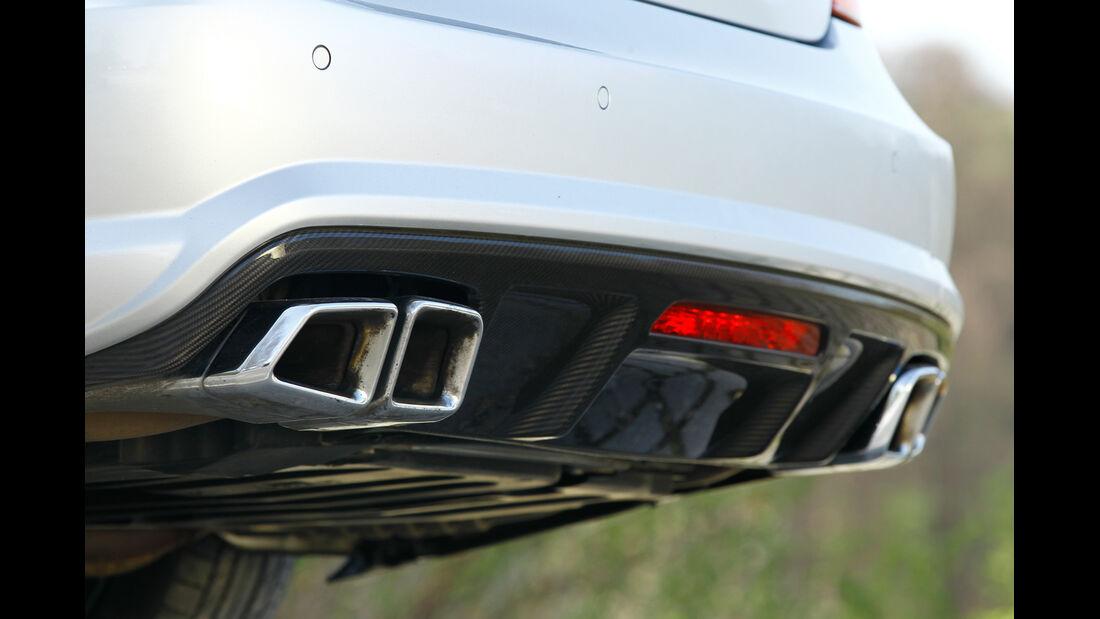 Mercedes CLS 63 AMG, Auspuff, Endrohre