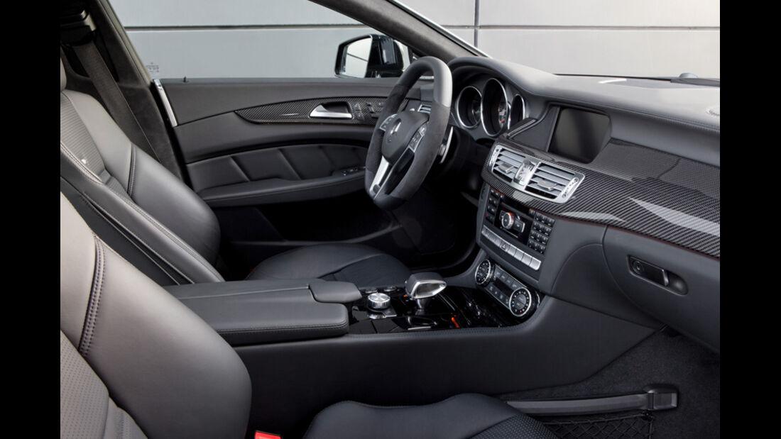 Mercedes CLS 63 AMG, CLS-Cockpit, Innenraum