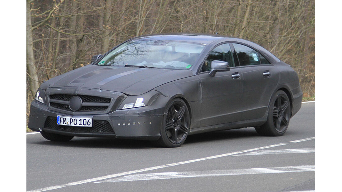 Mercedes CLS 63 AMG Erlkönig