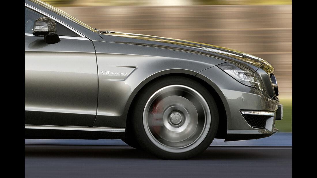 Mercedes CLS 63 AMG, Felge