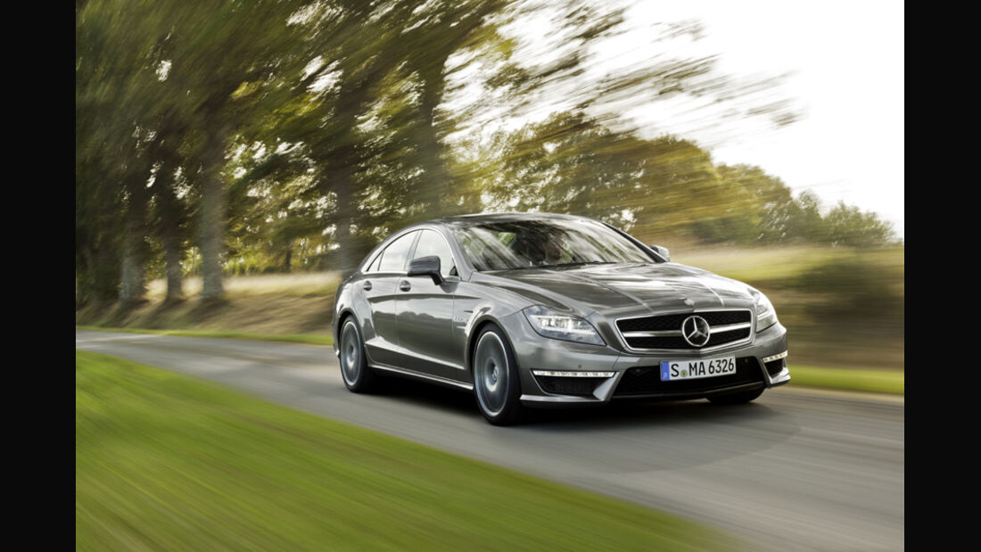 Mercedes CLS 63 AMG, Front