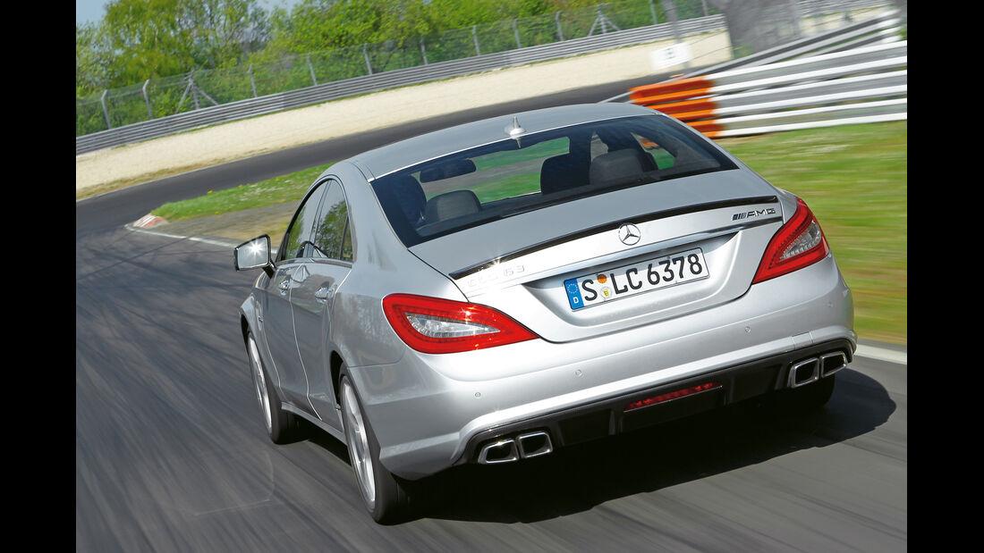 Mercedes CLS 63 AMG, Heckansicht