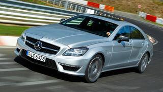 Mercedes CLS 63 AMG, Kurvenfahrt