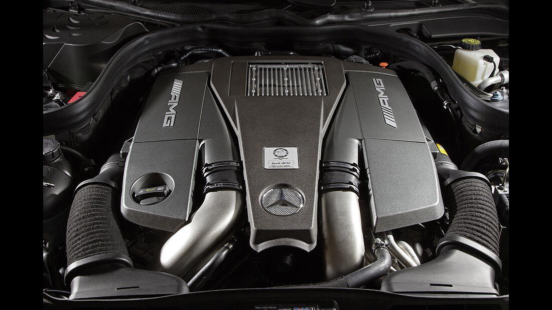 Mercedes CLS 63 AMG, Motor