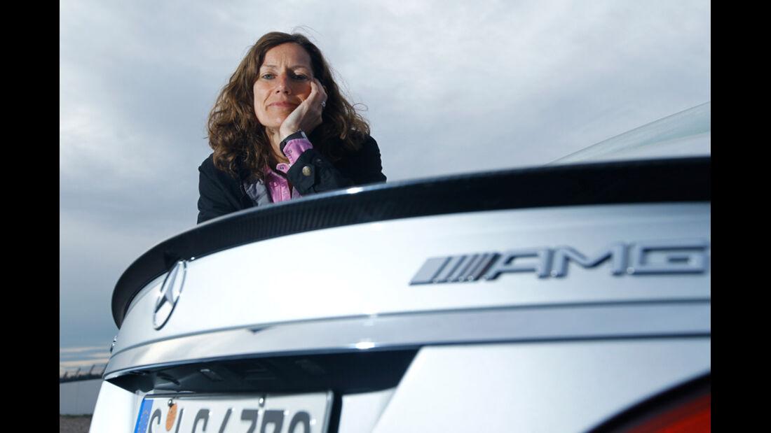 Mercedes CLS 63 AMG Performance Package, Anja Wassertheurer