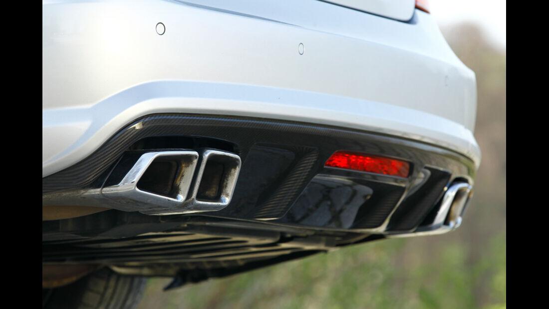 Mercedes CLS 63 AMG Performance Package, Auspuffanlage