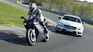 Mercedes CLS 63 AMG Performance Package, Ducati 848 EVO