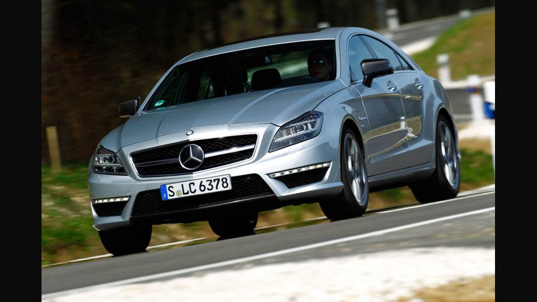 Mercedes CLS 63 AMG Performance Package, Frontansicht