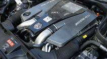 Mercedes CLS 63 AMG Performance Package, Motorraum, Motor