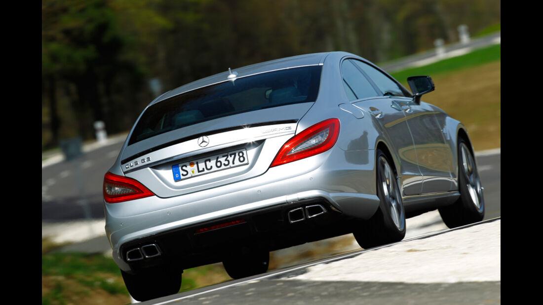 Mercedes CLS 63 AMG Performance Package, Rückansicht