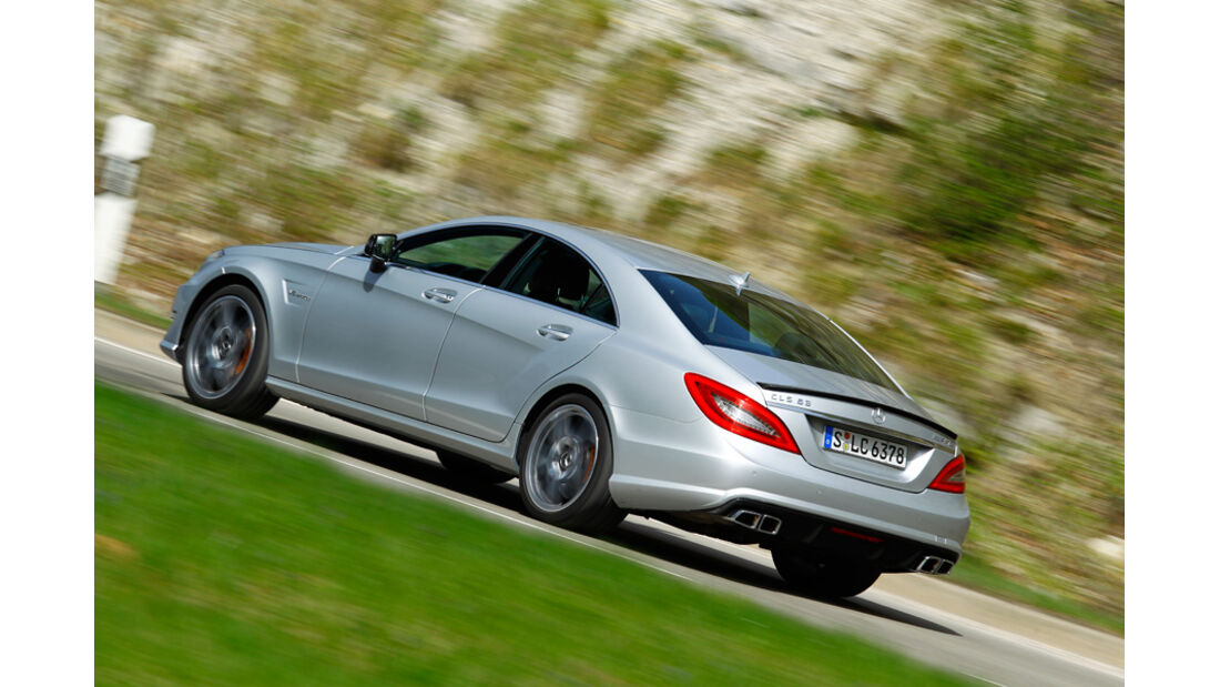 Mercedes CLS 63 AMG Performance Package, Seitenansicht