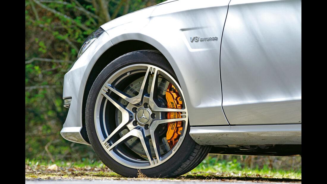 Mercedes CLS 63 AMG, Rad, Felge, Bremse