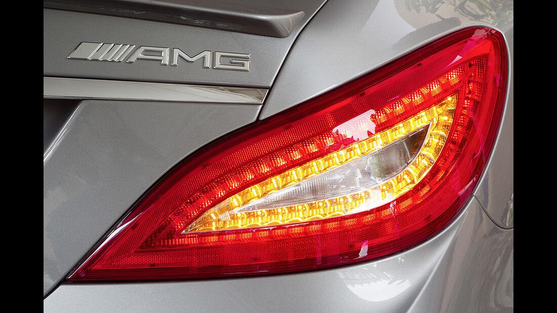 Mercedes CLS 63 AMG, Rücklicht, Rückleuchte