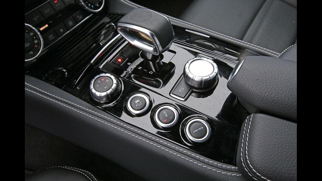 Mercedes CLS 63 AMG S 4Matic, Bedienelemente
