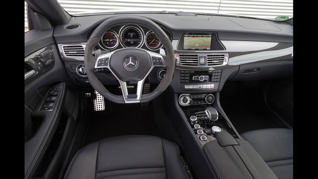 Mercedes CLS 63 AMG S 4Matic, Cockpit