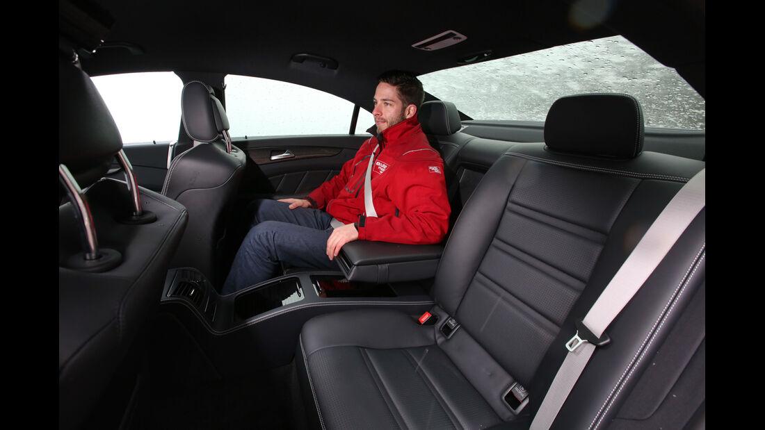 Mercedes CLS 63 AMG S 4Matic, Fondsitz