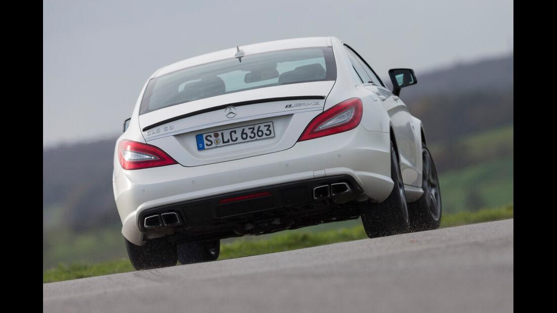 Mercedes CLS 63 AMG S 4Matic, Heckansicht