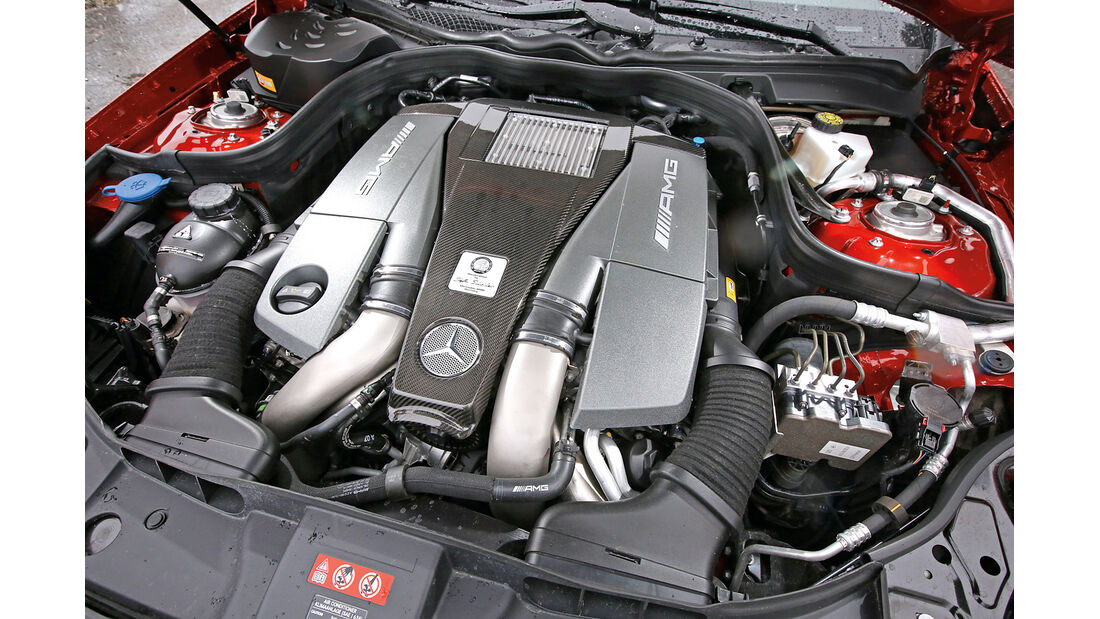 Mercedes CLS 63 AMG S 4Matic, Motor